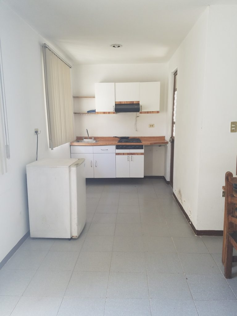 apartment kitchen in Cholula, Mexico