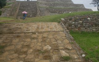 Pyramid of the Flowers at the archaeological site of Xochitécatl