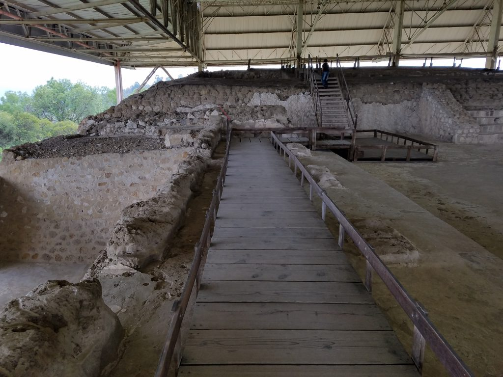 Archaeological site of the Palace at Cacaxtla