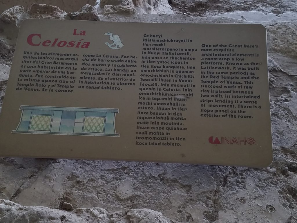 Information about the Archaeological site of the Palace at Cacaxtla