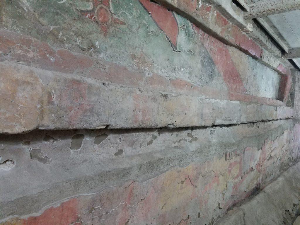 preserved mural, Cholula