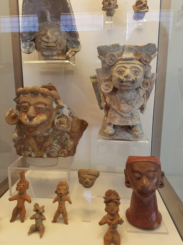 artifacts from the Pyramid of Cholula