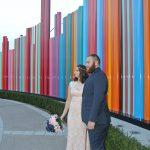 Las Vegas elopement in Symphony Park