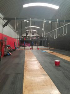 cross-fit gym in Cholula, Mexico