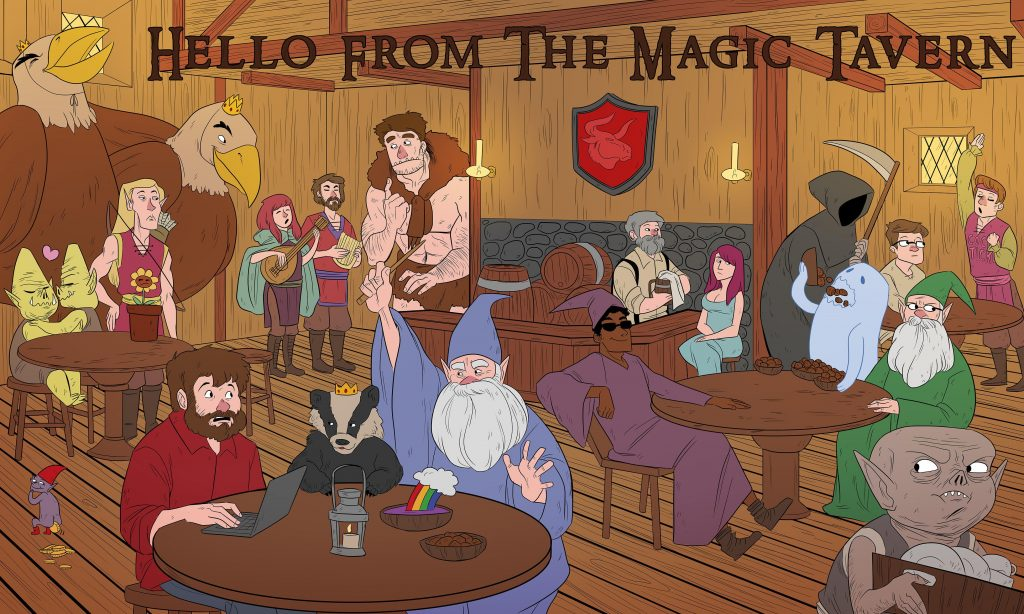 Podcast Recommendation: Hello From the Magic Tavern