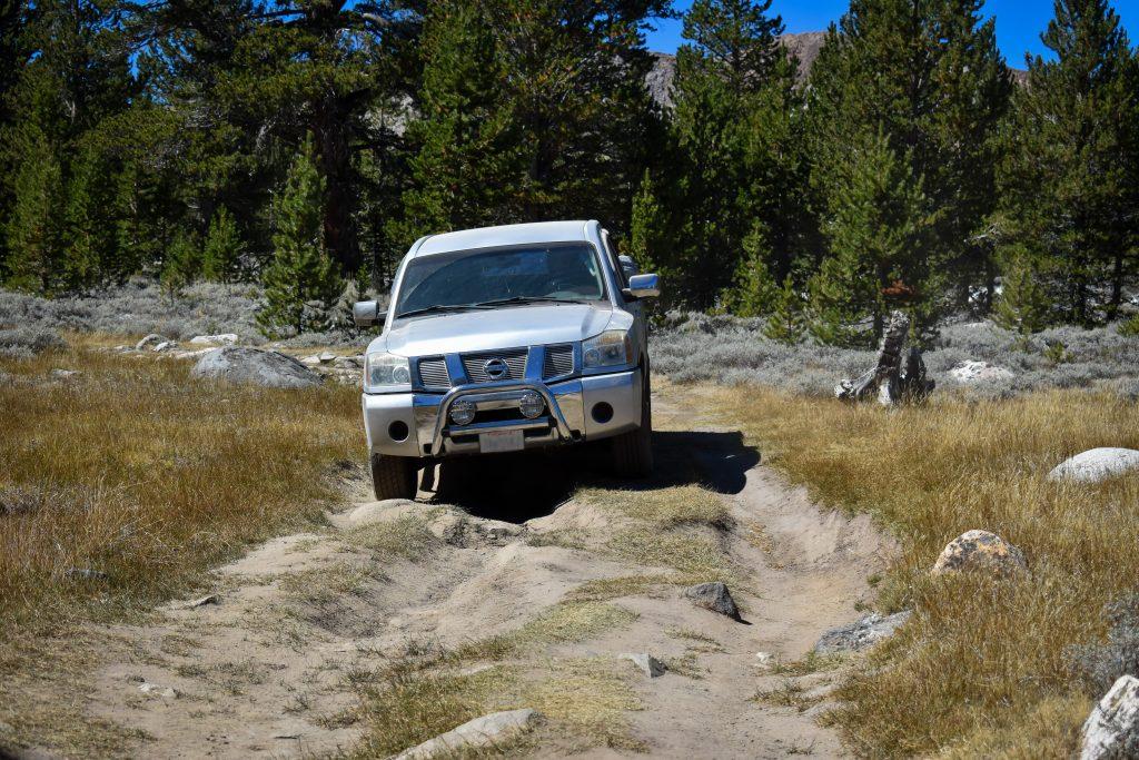 4x4 road coyote flats BLM camping