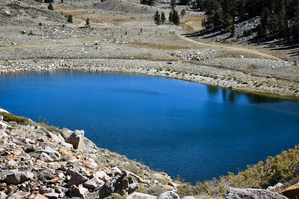Funnel Lake, Eastern Sierras, BLM camping