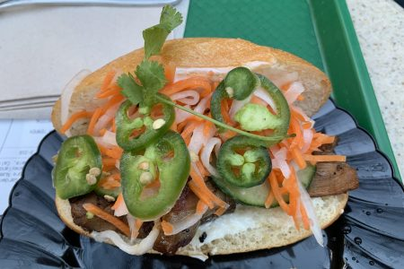 Banh Mi Pork Sandwich, Disney California Adventure Lunar New Year Festival
